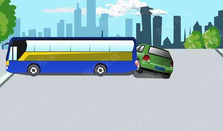 造成这起事故的主要原因是大客车倒车过程中没有认真观察。