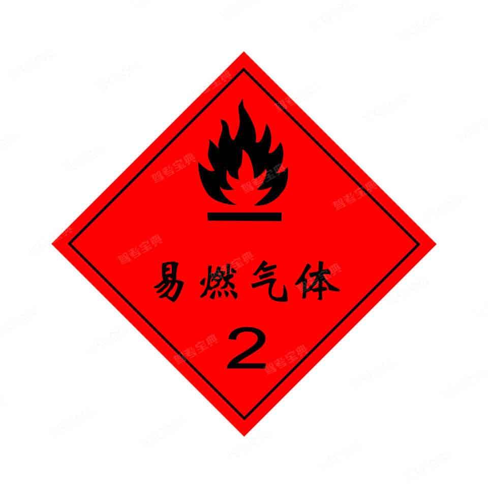 图示道路危险货物运输车辆标志牌,表示该车辆可以承运___。(底色:红色,图案:黑色)