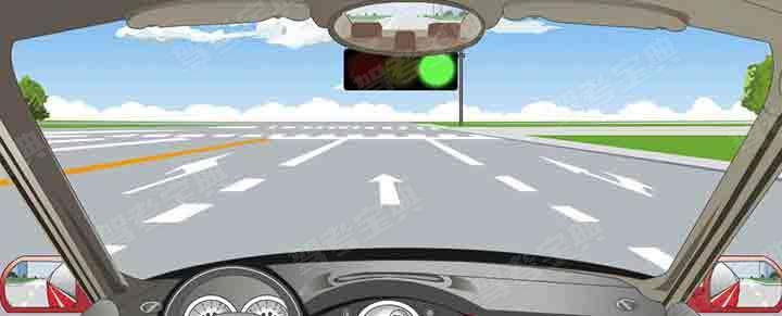 在这个路口左转弯选择哪条车道?
