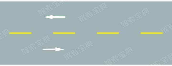 路中黄色分界线的作用是什么?