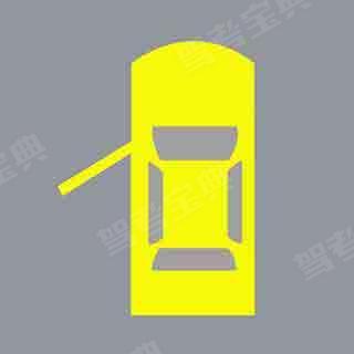机动车仪表板上(如图所示)亮,提示右侧车门未关闭。