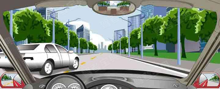 在这种情况下被超机动车驾驶人怎样应对?