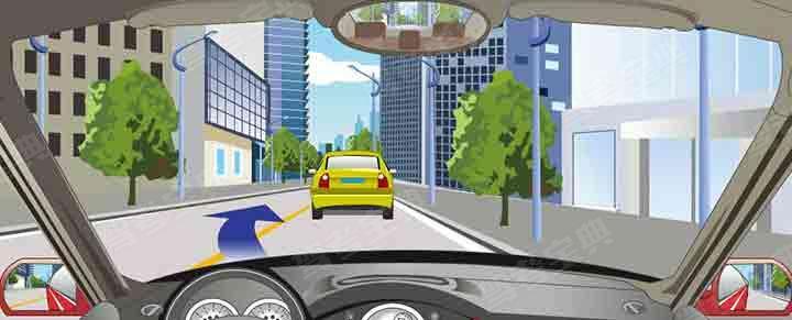 驾驶机动车在这种道路上超车可借对向车道行驶。
