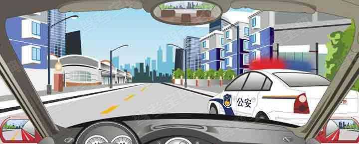 驾驶机动车遇到这种特殊情况怎样行驶?